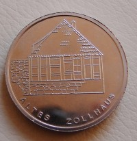 Gedenkmedaille Altes Zollhaus