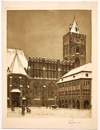 Marienkirche im Winter