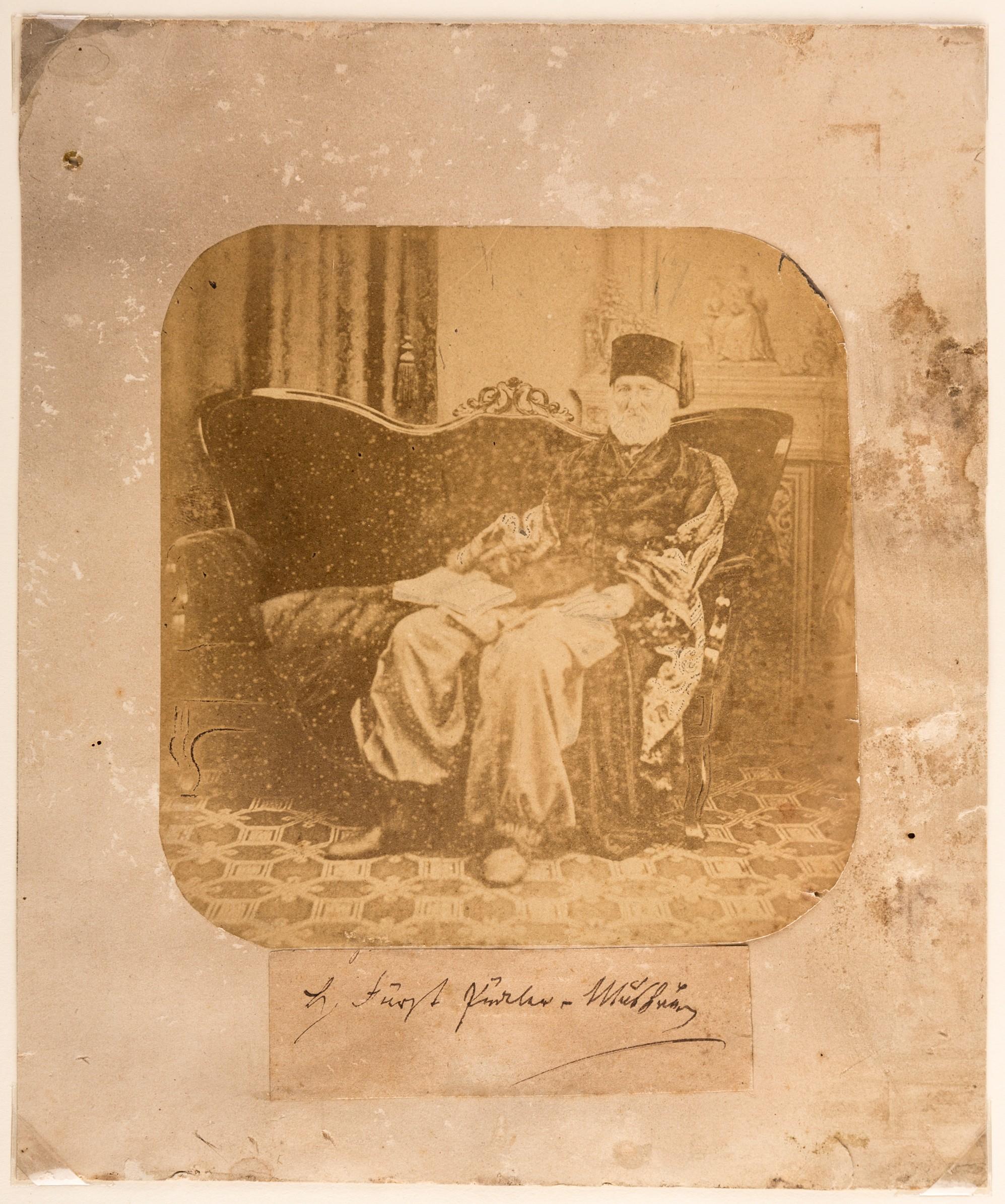 Hermann von Pückler-Muskau, Photography, ca. 1862 (Stiftung Fürst-Pückler-Museum Park und Schloss Branitz, CC BY-NC-SA)