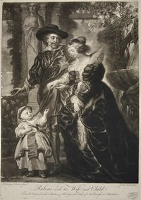 Rubens with his Wife and Child