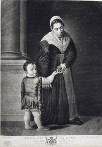 Titian's Son and Nurse