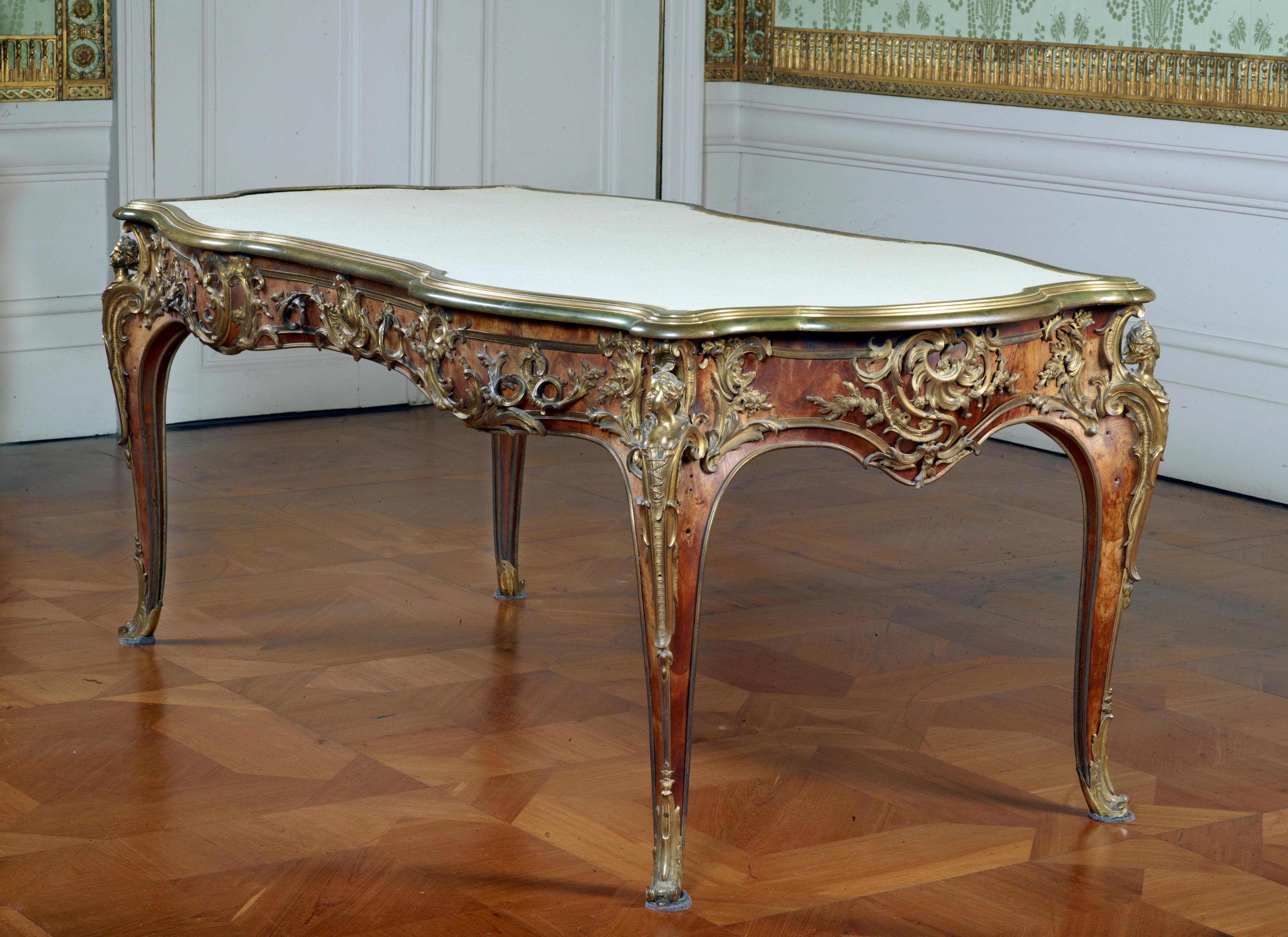 Französischer Schreibtisch König Friedrichs Des Großen Bureau Plat